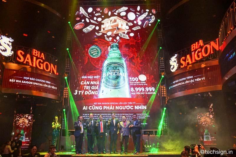 """Sabeco khuyến mãi """"bật bia Saigon Special, lên lộc tiền tỷ"""""""