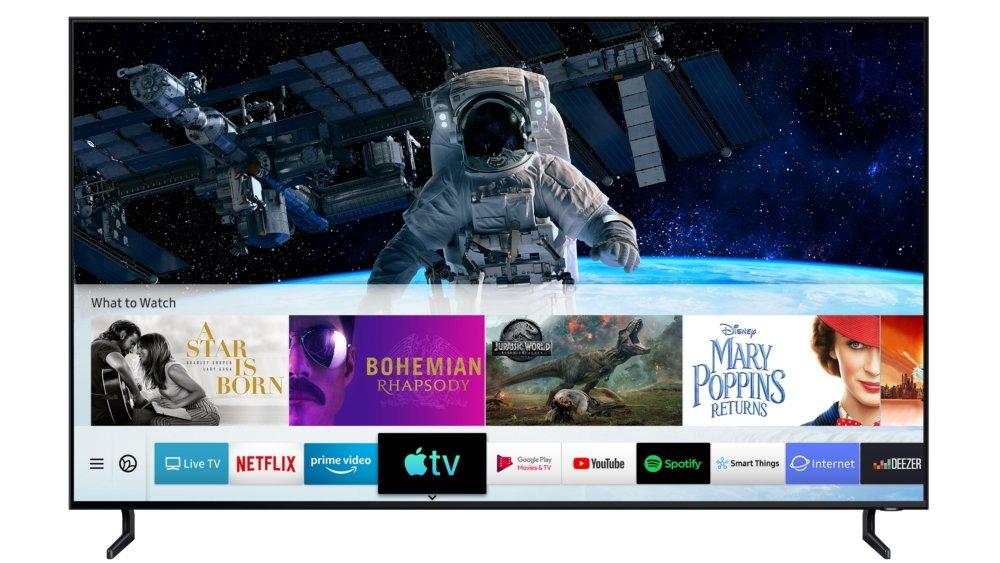 Samsung là nhà sản xuất TV đầu tiên ra mắt Ứng dụng Apple TV và AirPlay 2
