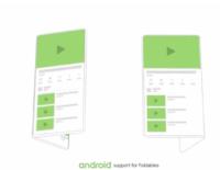 Google đang phát triển smartphone màn hình gập