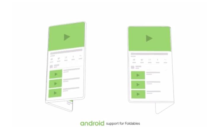Mẫu smartphone màn hình gập của Google