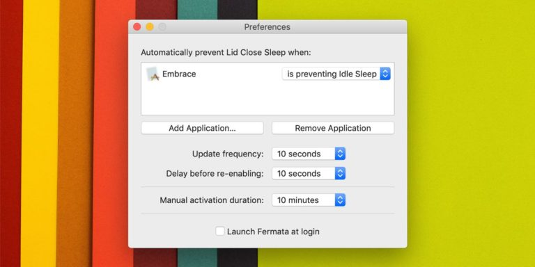 Tắt chế độ Sleep khi gập MacBook