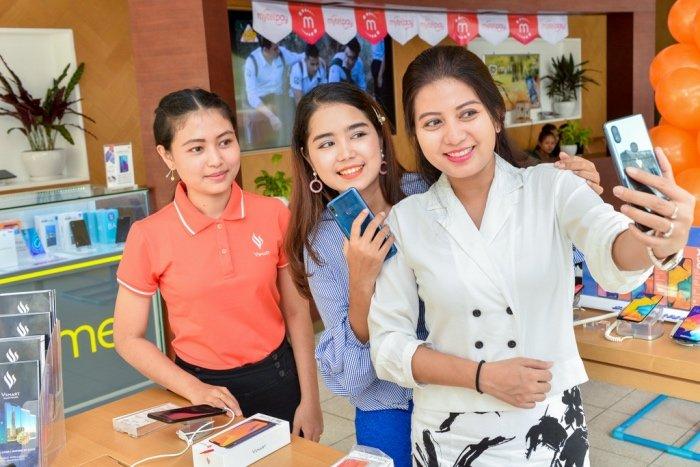 Vsmart ra mắt tại thị trường Myanmar