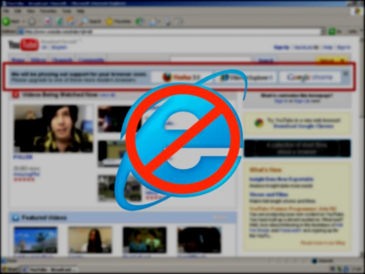 YouTube đã âm mưu khai tử Internet Explorer 6 như thế nào?