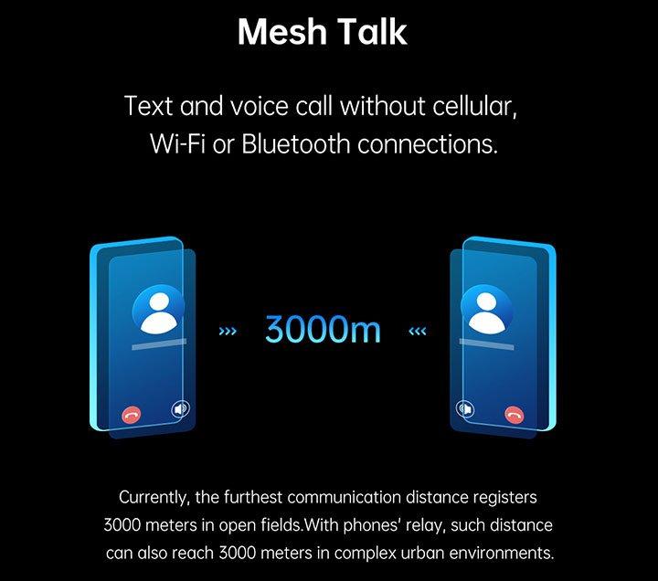 Công nghệ MeshTalk của Oppo hỗ trợ liên lạc không cần Wi-Fi hoặc mạng di động