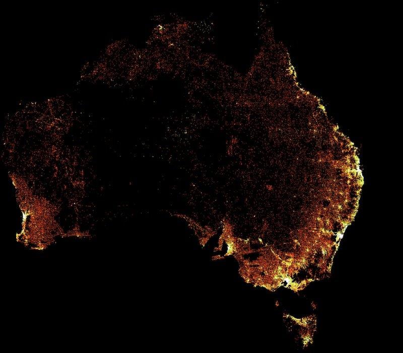 Facebook công bố bản đồ mật độ dân số chi tiết nhất cho khu vực APAC