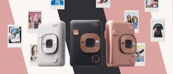 """Fujifilm Instax Mini LiPlay: máy ảnh chụp lấy liền """"lai"""" camera kỹ thuật số"""