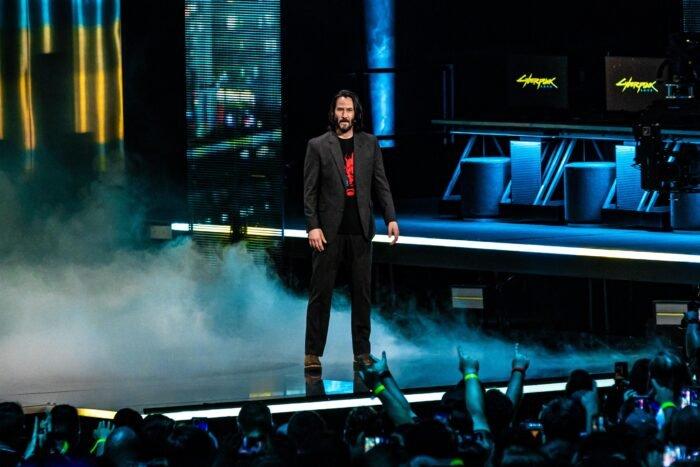 Nam diễn viên Keanu Reeves sẽ góp mặt trong game Cyberpunk 2077