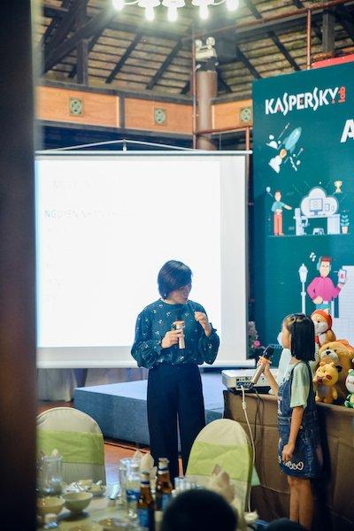 Kaspersky tổ chức sự kiện Hiểu để bảo vệ trẻ