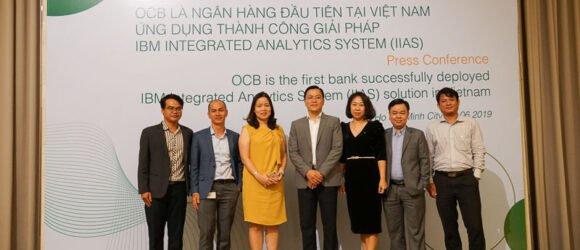 Ngân hàng OCB triển khai hệ thống phân tích tích hợp IIAS của IBM