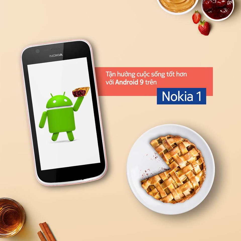 Nokia 1 chính thức lên hệ điều hành Android 9 Pie