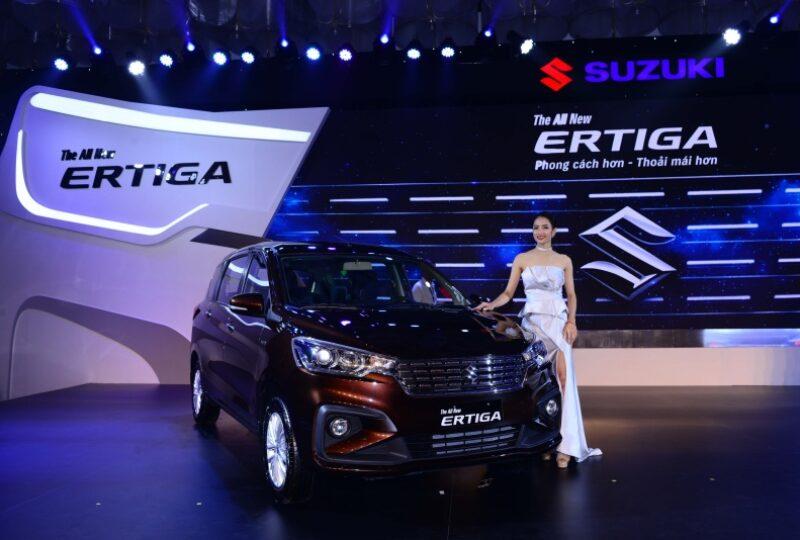 Ra mắt dòng xe đa dụng 7 chỗ Suzuki Ertiga