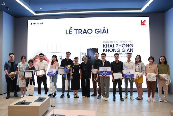 """Samsung tổ chức chung kết cuộc thi """"khai phóng không gian Spacemax"""""""