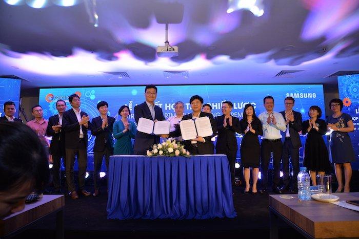 Samsung ký kết hợp tác chiến lược đào tạo công nghệ với Egroup