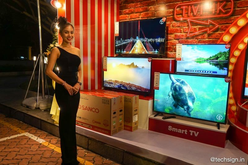 Thương hiệu Tivi Sanco ra mắt, lắp ráp tại Củ Chi, linh kiện nội địa cao