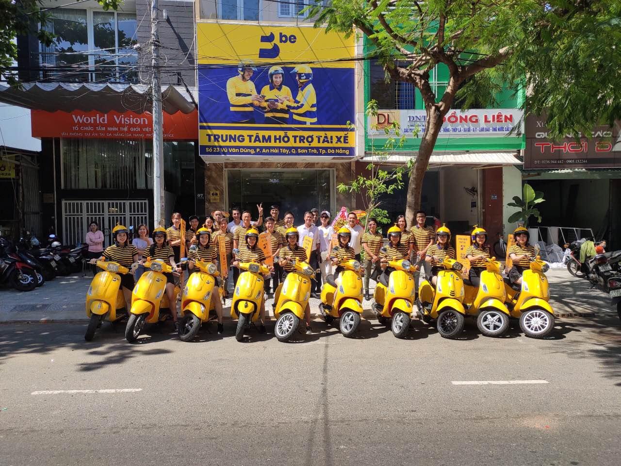 Ứng dụng gọi xe be triển khai beBike tại Đà Nẵng