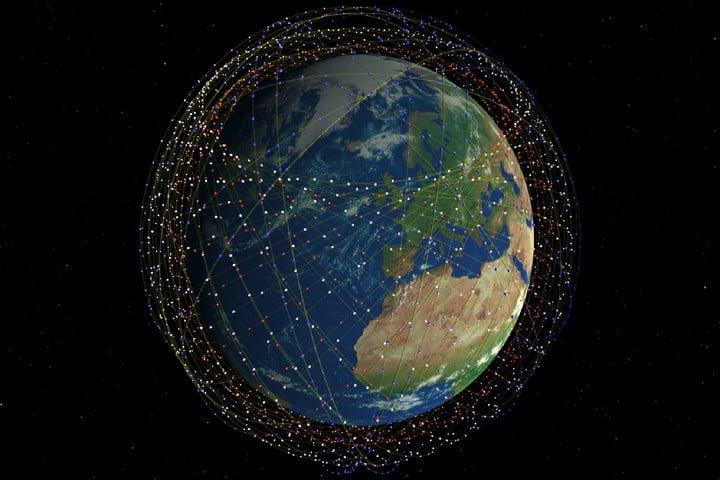 """Dàn vệ tinh Starlink của SpaceX có thể làm """"náo loạn"""" bầu trời"""