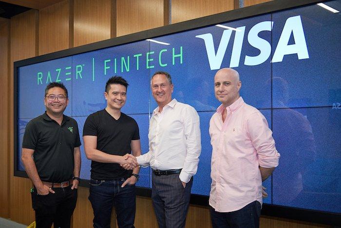 Razer hợp tác Visa, tích hợp tính năng trả trước trong ví điện tử