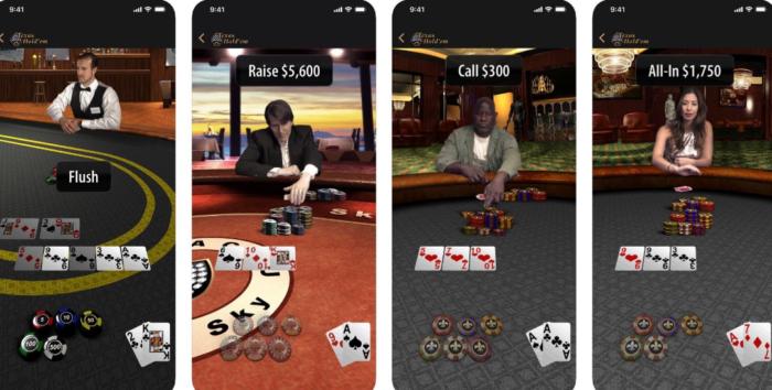 Apple phát hành lại game Texas Hold'em kỷ niệm 10 năm App Store