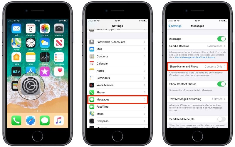 Cài đặt tên và ảnh đại diện iMessage trong iOS 13