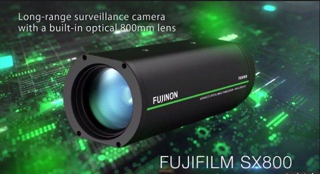 Camera giám sát Fujifilm SX800 đọc được biển số xe từ khoảng cách 1 km
