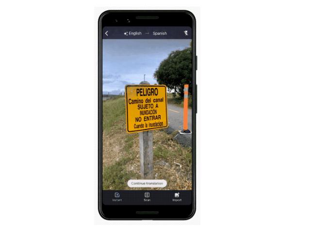 Dịch bằng camera ở Google Translate hỗ trợ thêm 60 ngôn ngữ