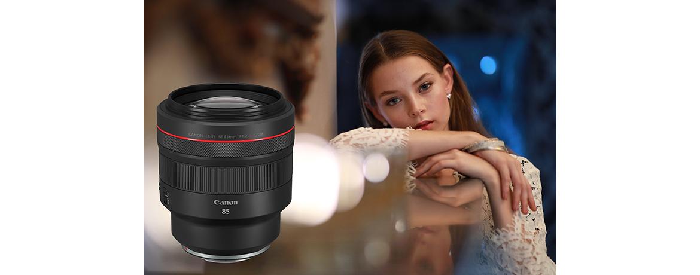 Canon ra mắt ống kính RF85mm f/1.2L USM chụp chân dung, giá 68 triệu