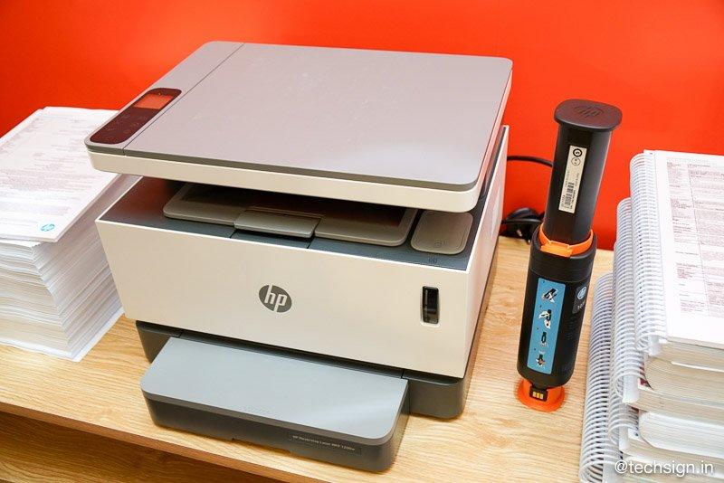 HP ra mắt máy in laser nạp mực cực nhanh