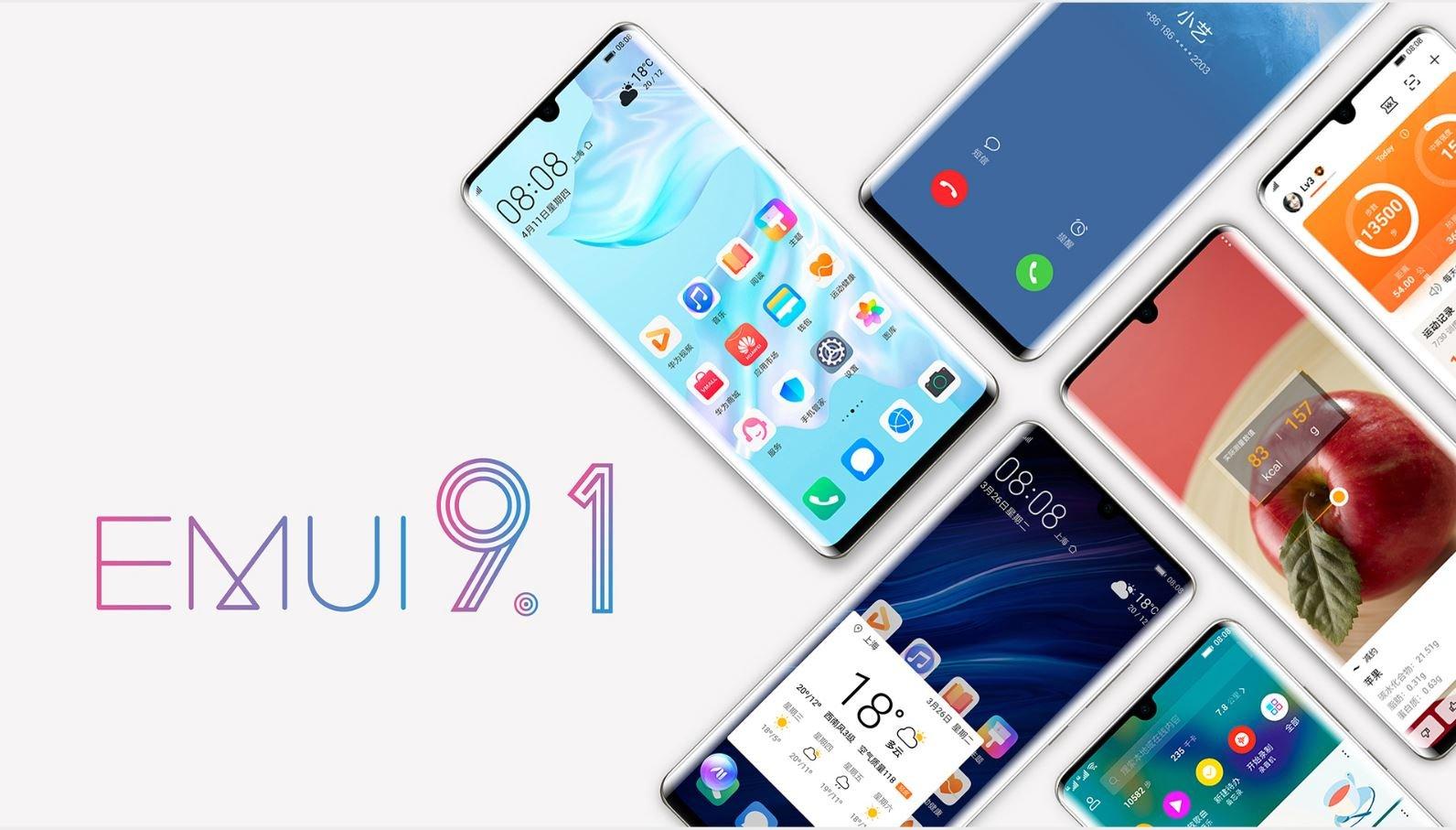 Huawei phát hành bản cập nhật EMUI 9.1