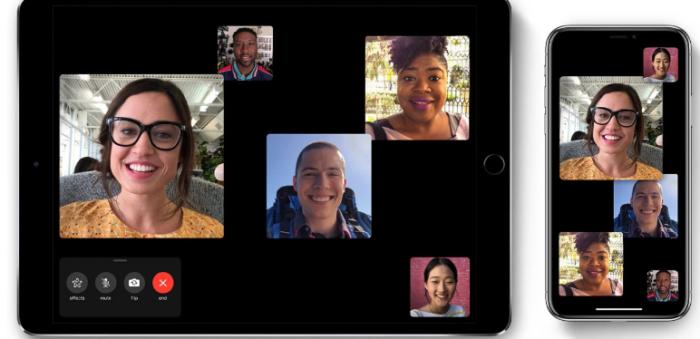 Cập nhật trên iOS 13 beta giúp tương tác mắt thực tế hơn khi FaceTime