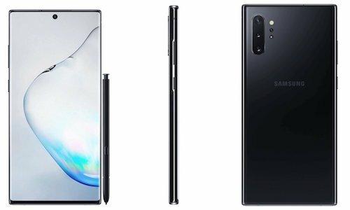 FCC tiết lộ kích thước màn hình và thiết kế chính thức của Galaxy Note 10+