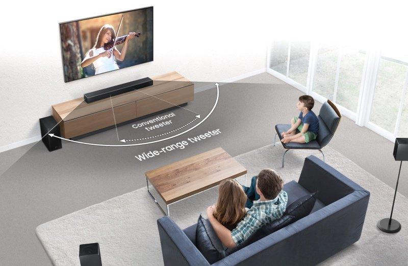 Mở bán các dòng loa thanh Samsung Harman Kardon Q Series 2019
