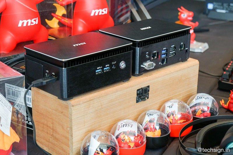 MSI ra mắt các dòng máy tính nhỏ gọn mới