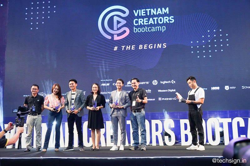 Đang diễn ra ngày hội Vietnam Creators Bootcamp