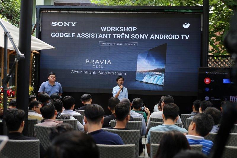 Offline giới thiệu tính năng tối ưu Google Assistant trên TV Sony