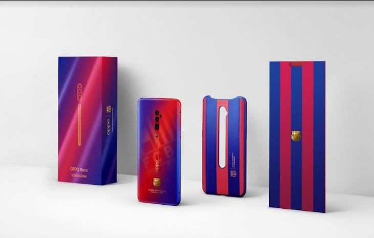 OPPO ra mắt Reno 10x Zoom phiên bản giới hạn FC Barcelona