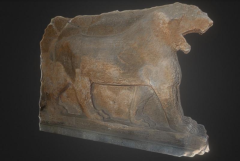 Công nghệ in 3D phục dựng bức tượng cổ vật 3.000 tuổi