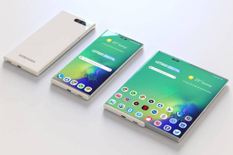 Samsung nhận bằng sáng chế màn hình smartphone có thể trượt thành tablet