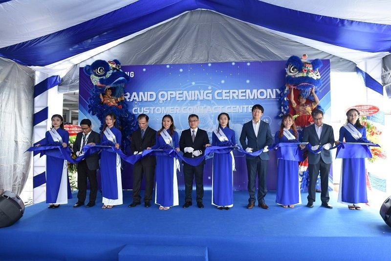Samsung khai trương tổng đài chăm sóc khách hàng 24/7 tại Việt Nam
