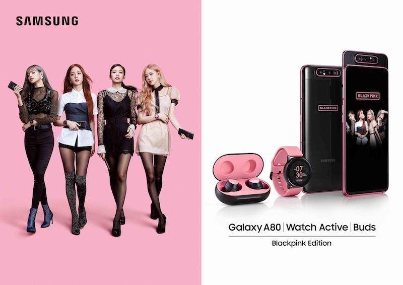 Samsung Galaxy A80 phiên bản đặc biệt BlackPink ra mắt giới hạn