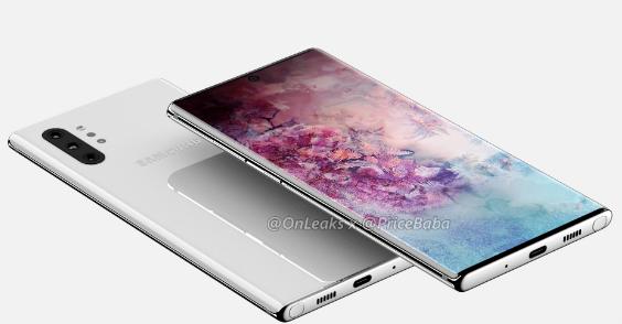 Rò rỉ Galaxy Note 10: thiết kế, thông số kỹ thuật và giá cả