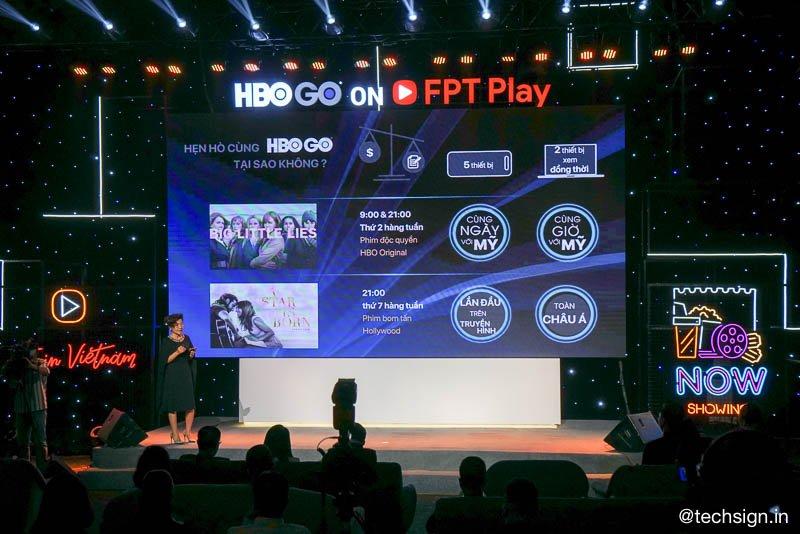 Truyền hình trực tuyến HBO GO ra mắt trên FPT Play, giá thuê bao tháng chỉ 79 ngàn