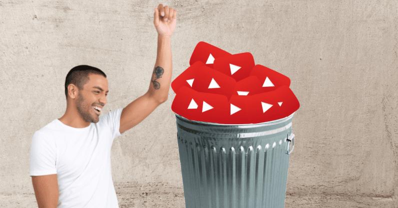 Cách xóa hoặc tạm ẩn tài khoản YouTube