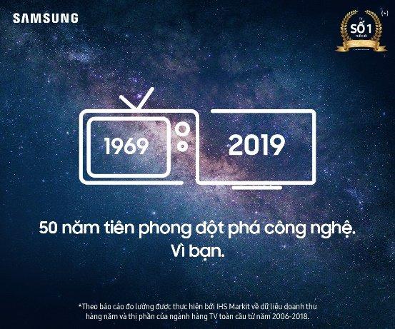 """Khởi động chương trình """"Vinh danh 50 chủ sở hữu TV Samsung lâu đời nhất"""""""