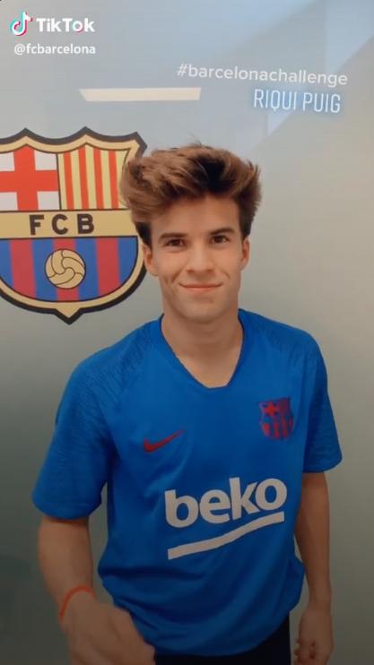 Câu lạc bộ Barcelona mở tài khoản chính thức trên TikTok