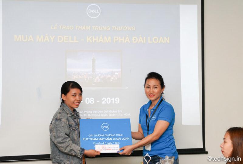 Dell tổ chức trao thưởng 30 chuyến du lịch Đài Loan cho khách hàng