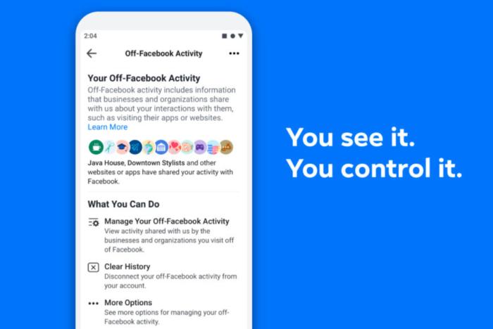 Facebook tung công cụ giúp quản lý dữ liệu chia sẻ với ứng dụng khác