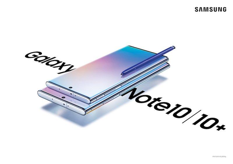 Galaxy Note 10 chính thức ra mắt với hai phiên bản màn hình