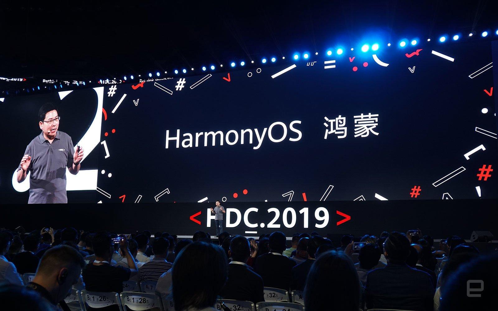 Huawei ra mắt hệ điều hành phân tán HarmonyOS