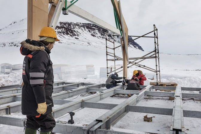 Ngôi nhà công nghệ giữa băng đảo Greenland