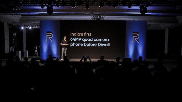 Realme giới thiệu smartphone 4 camera độ phân giải 64MP